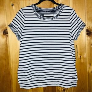Marc New York NWT performance striped top size L
